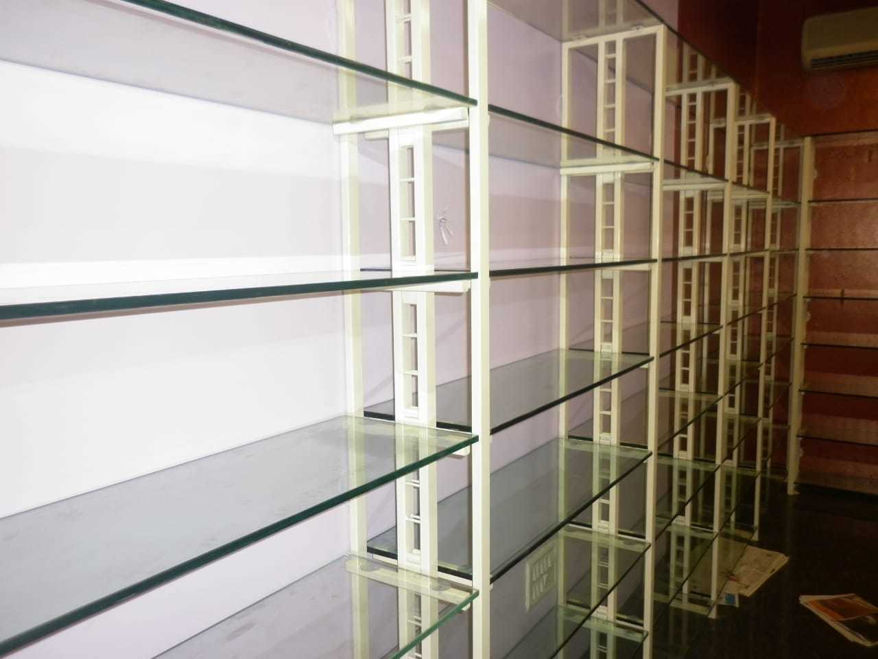 Glass shelf Rack