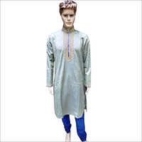 Mens Embroidered Kurta Pajama
