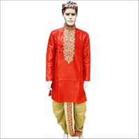 Mens Fancy Dhoti Kurta