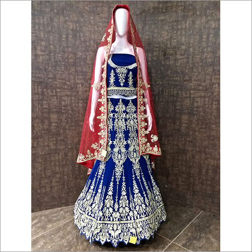 Heavy Embroidered Bridal Lehenga