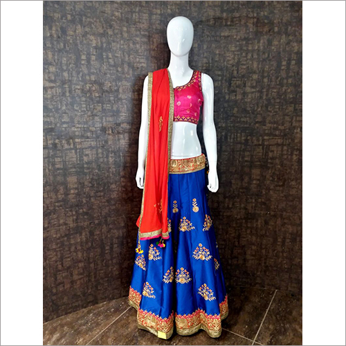 Embroidered Ghagra Choli