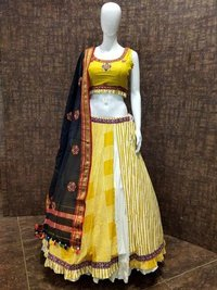 Heavy Embroidered Ghagra Choli