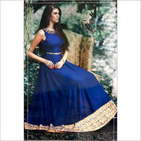 Ladies Fine Embroidered Long Dress