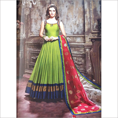 Ladies Fancy Party Wear Long Dress