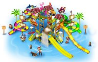 8 Platform Water Play System