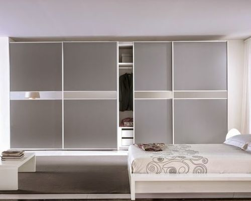Matt Lacquered Glass Modular Wardrobes