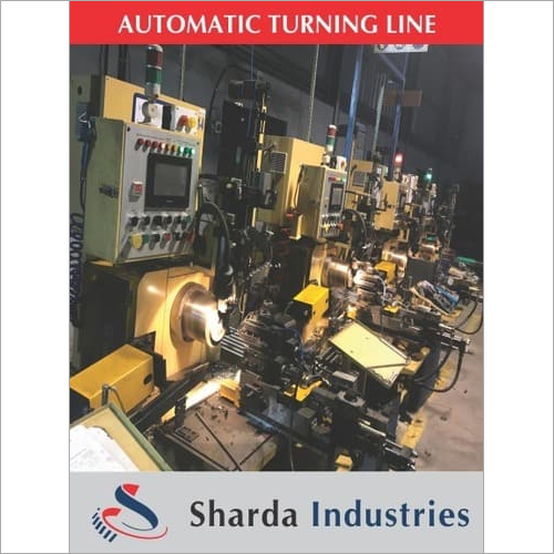 Automatic Turning LIne for bearing and Bushes