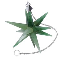 Natural Jade Galaxy Merkaba Star with Healing Properties For Vastu & Reiki