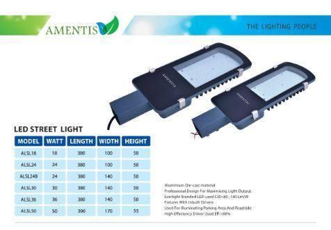 Led Street Light 30 Watt