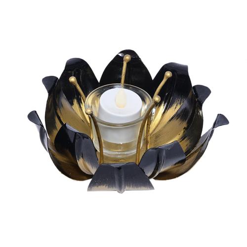 Indian Handmade Home Decorative Lotus Design Tea Light Candle Jar