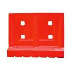 ROAD BARRICADE SAND FILLABLE ONLY  1Mtr