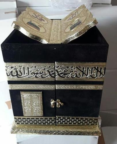 Black Qaba Shape Quran Box
