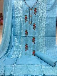 Ladies Printed Suit Dress Material