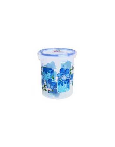 1.5 Ltr. Plastic Super lock Printed round Container
