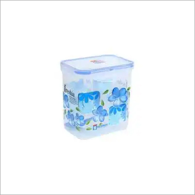 1.5 Ltr. plastic super Lock Printed Rectangle Container