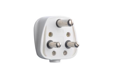 6 Amp 3 Pin Plug Top