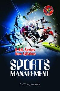 Sports Management (B.P.Ed. NCTE New Syllabus)