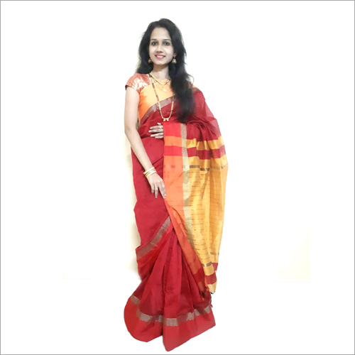 Cotton Silk Maheshwari Sarees