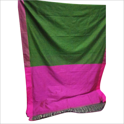 Ladies Plain Cotton Saree