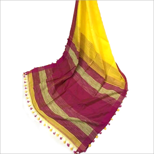Ladies Border Silk Saree