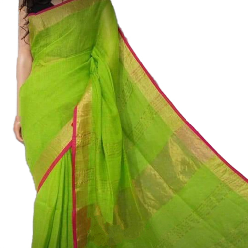 Ladies Plain Silk Saree