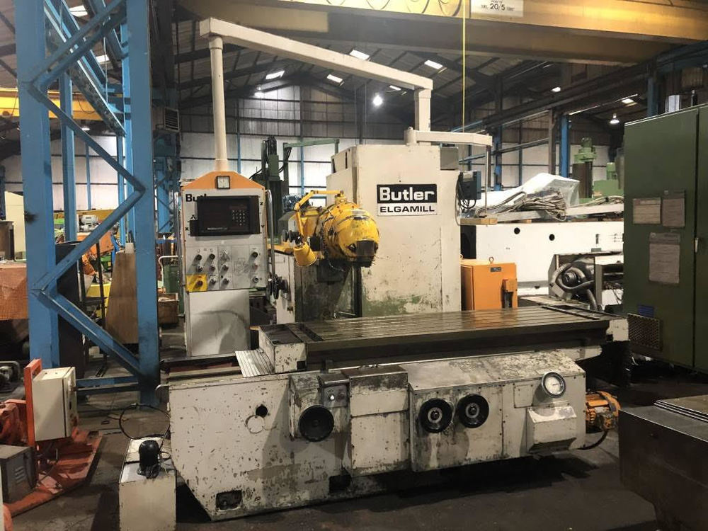 Milling Machines For Sale Used Metal Milling Machines >> Bed Milling Butler Elgamill Used Bed Milling Machine For Sale Delhi