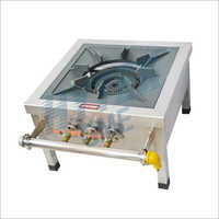 SS Top Frame Single Gas Burner