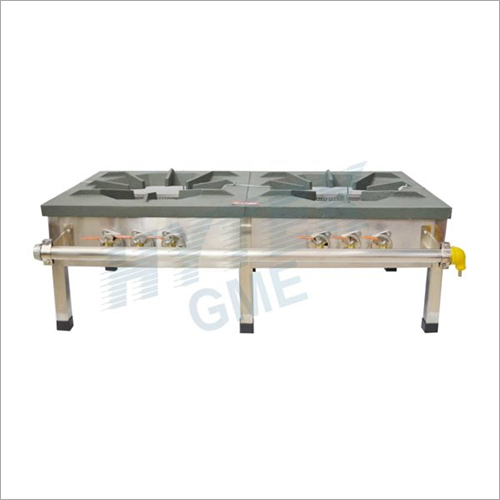 Iron Top Plate Double Gas Burner