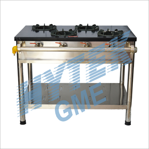 Iron Top Plate Four Gas Burner