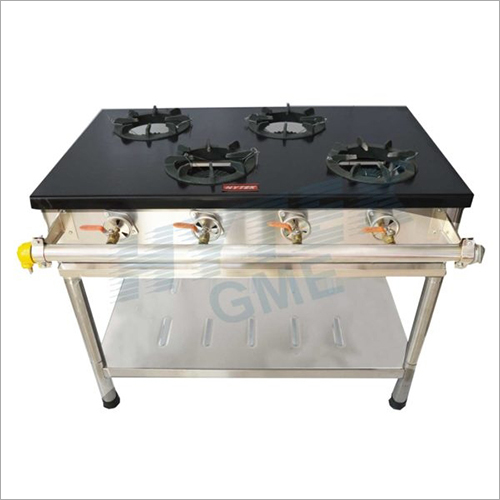 Four Round Gas Burner Stove