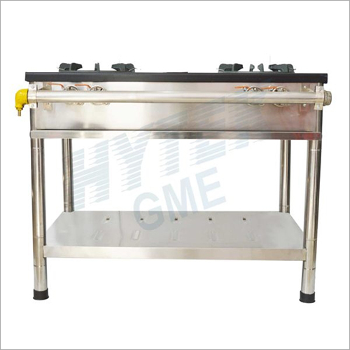 Iron Top Plate Double Burner Gas Stove