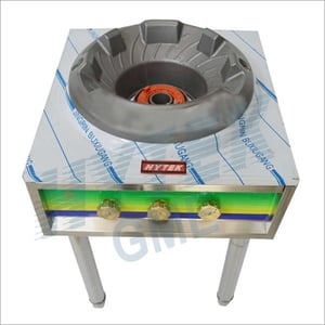 SS Top Frame Single Chinese Gas Burner