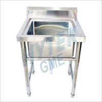 Steel Single Bowl Sink