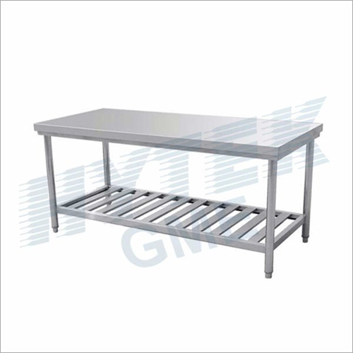 Stainless Steel Two Layers Table