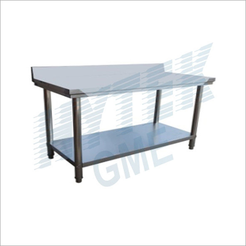 Two Layer Table With Splashback