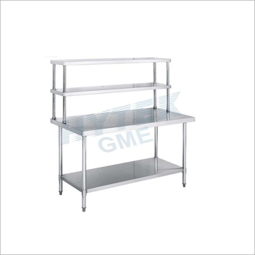 Two Layer Shelves for Work Table