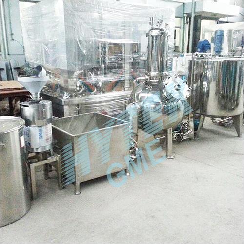 Soya Milk Production