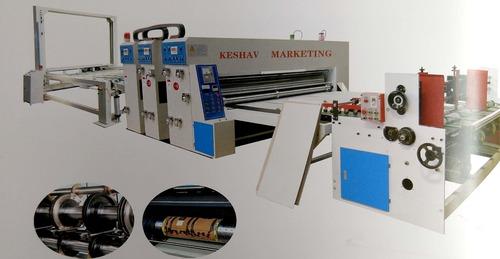 Semi Auto Flexo Printing Slotting Die Cutting Machine
