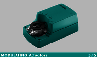 2-POINT Spring-return actuator