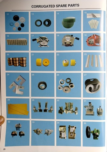 Corrugated Spare Parts 2