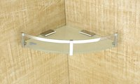 Glass Corner Shelf  9'' x 9'' 8mm