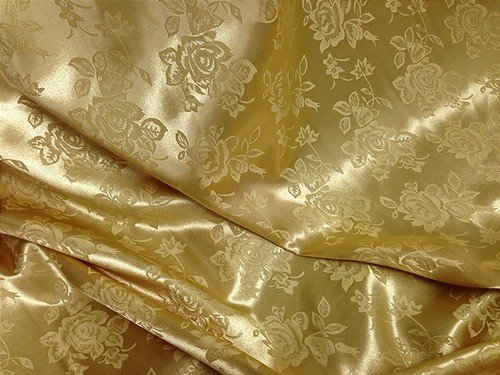 Bemberg Satin Self Jacquard Fabric