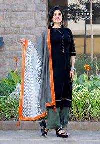 Mittoo Odhani Designer Kurtis with duppata