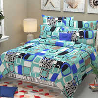 Double Bed Printed Bed Sheet