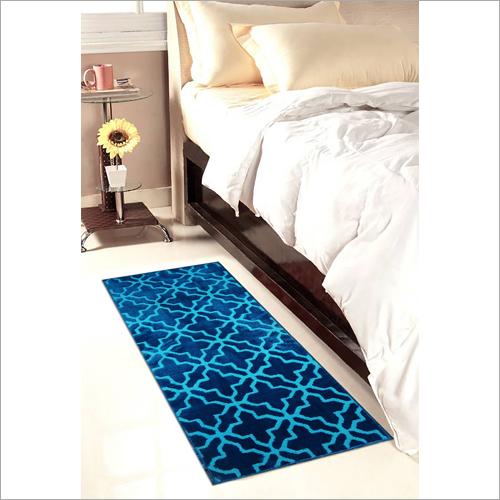 Blue 3D Bed Side Runner