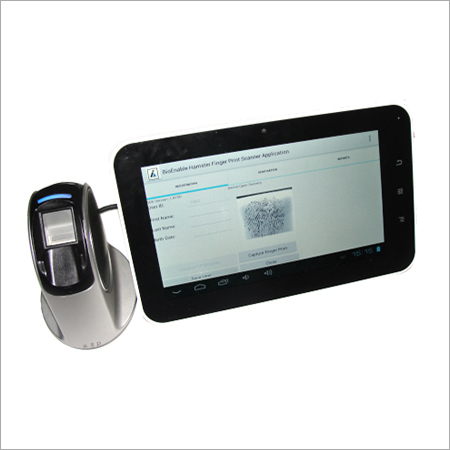 Biometric PC Tablet