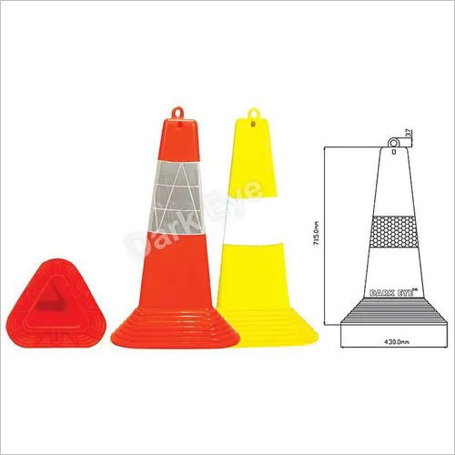 Triangular cones 750mm