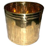 Copper Brass Decorative Planter 13 inch