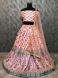 Ladies Silk Lehenga Choli