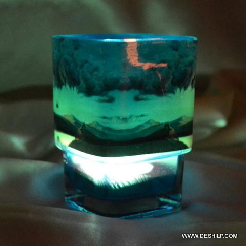 Glass Decor Printing Votive